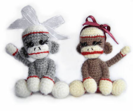Bears By Jen Miniature Crochet Collectable Teddy Bears And